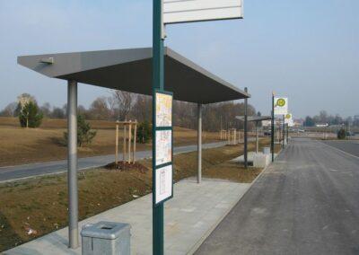 Bauschlosserei in Ehekirchen - Bushaltestellen